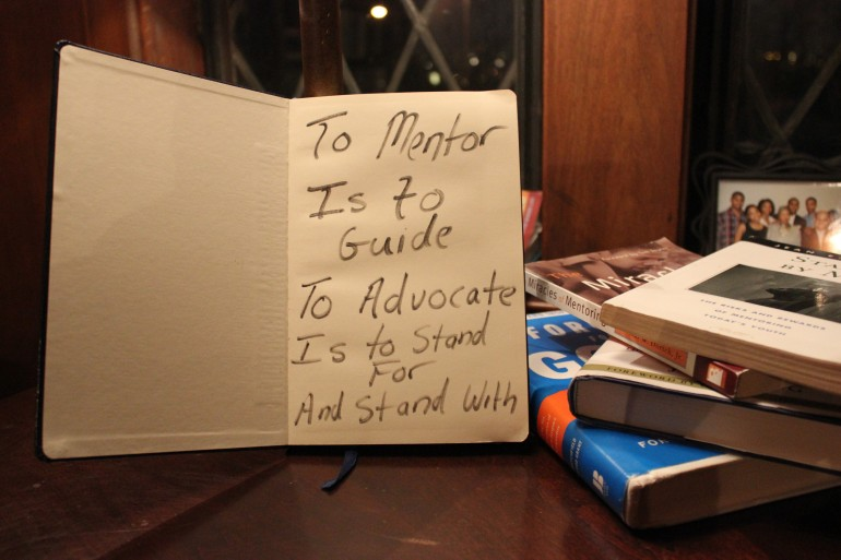 The Lounge's Mentor Moment of the Day: Being a Mentor-Advocate