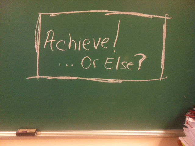 Achieve…or Else? The Dangers of a Prevention Based Approach to Defining Black Male Achievement